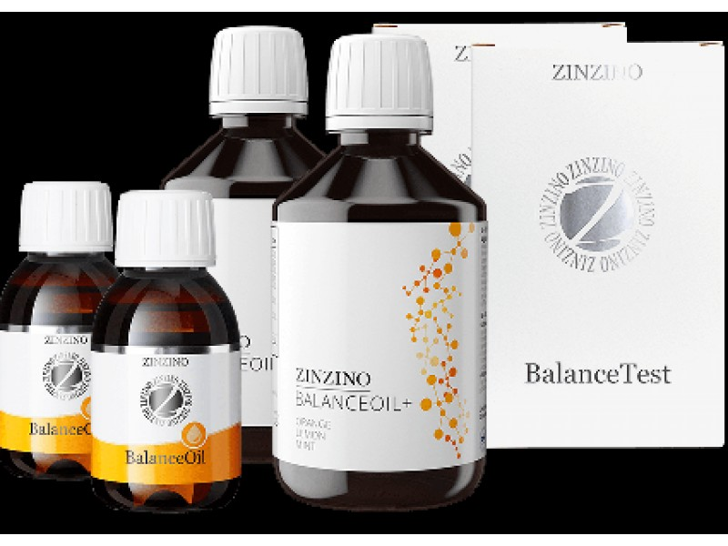 Zinzino Balance Oil kit w/ test 2