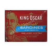 King Oscar Brisling Sardines in Oil 100g