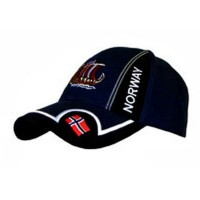 Blue Cap with Flag & Viking Ship