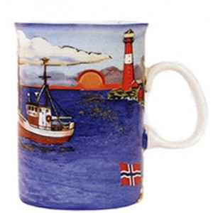 Fishing Village Mug