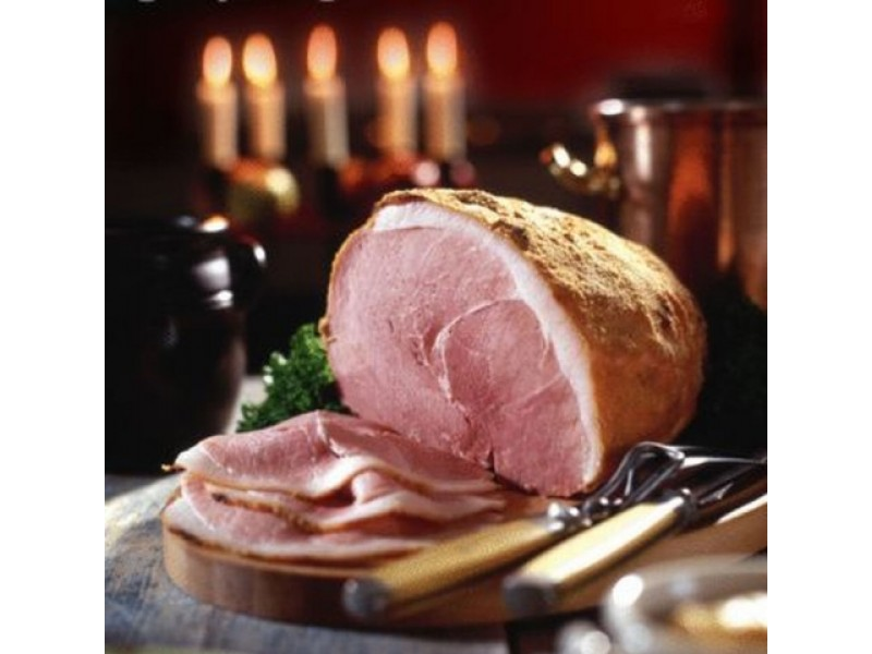 Swedish Style Christmas Ham Bone In