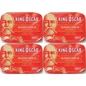 King Oscar Sardines in Tomato