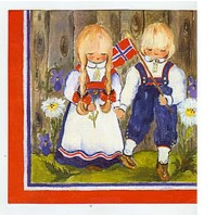 May 17 Children Napkins