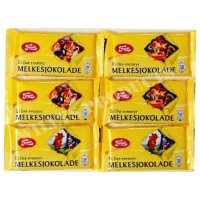 Freia-  Milk Chocolate Bars 60g