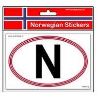 Norwegian Stickers N