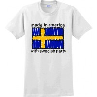 Swedish Parts T-Shirt Adults